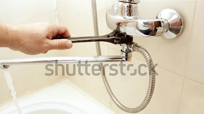 fix shower